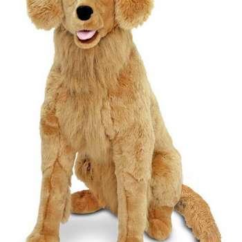 Golden Retriever Stuffed Dog