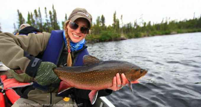 Labrador Brook Trout Fishing