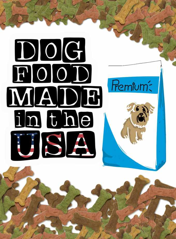 what dog food is made in the usa