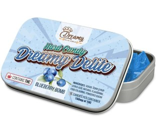 BLUEBERRY BOMB HARD CANDY BY DREAMY DELITE