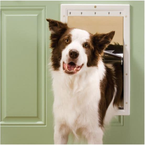 Pet Safe Plastic Pet Door with Soft Tinted Flap