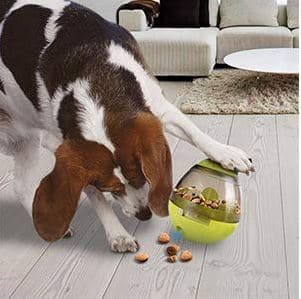 AIBOONDEE Treat Ball Dog Toy for Pet Increases IQ