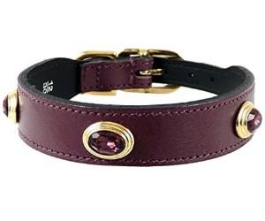 Hartman & Rose Leather Dog Collar – Royal Collection