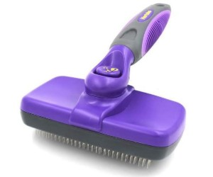 Hertzko Self Cleaning Slicker Brush review