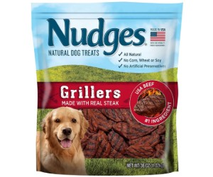 Nudges Steak Grillers Dog Treats review