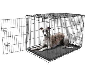 Carlson Pet Products Secure and Foldable Single Door Metal Dog Crate review