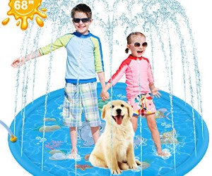 Zen Laboratory Pet Soft Sprinkler Splash Pad