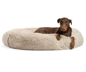 Best Friends by Sheri The Original Calming Shag Vegan Fur Donut Cuddler review