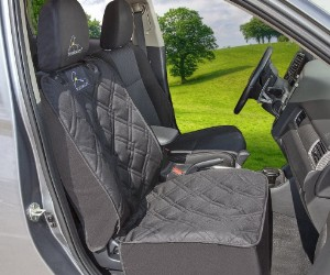Meadowlark Car Front Seat Cover  review
