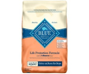 Blue Buffalo Life Protection Formula for Puppies of Large Dog Breeds review