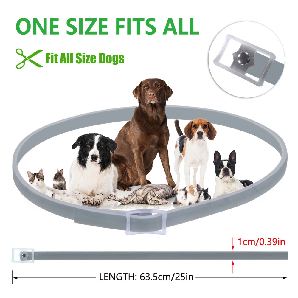 Anti Flea Ticks Waterproof Long Collar