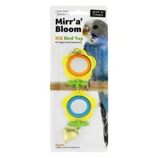 bird toy with mirror