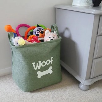 pet toy basket