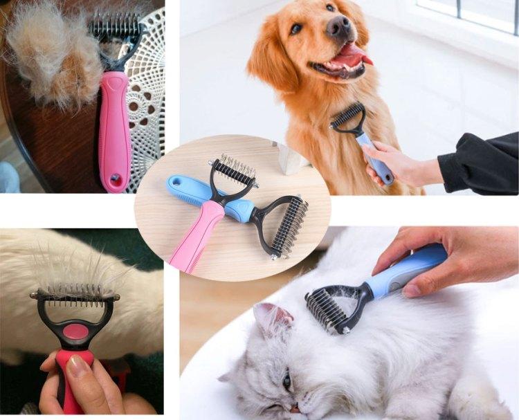 brosse pour poil de chat