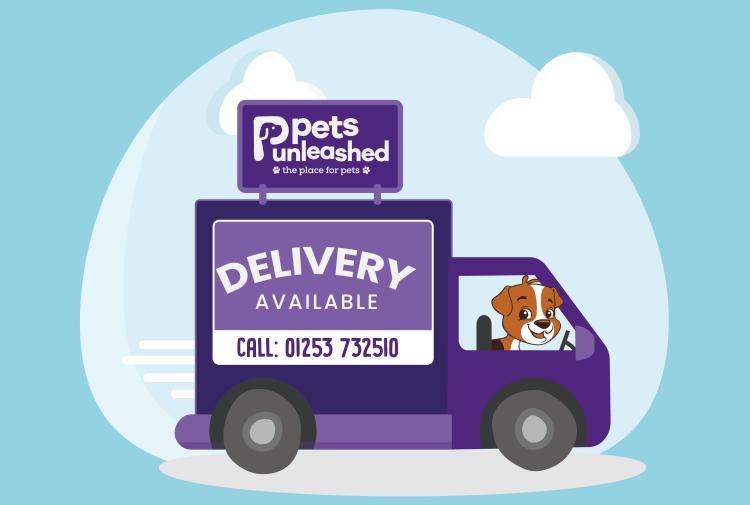 pets unleashed cartoon delivery van reversed