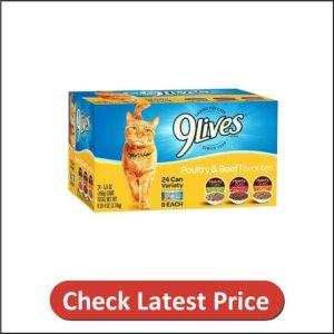 9Lives Variety Pack Favorites Wet Cat Food