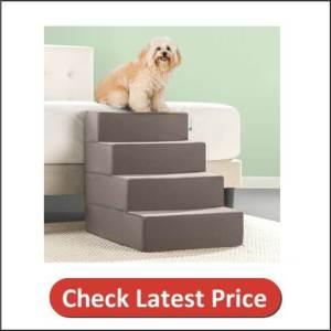 Zinus Easy Pet Stairs, Sand