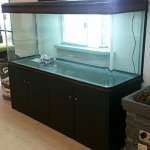 200-Gallon-Glass-Fish-Tank-Reef-Aquarium-with-Filter-System-T8-Lighting-System-and-Cabinet-Stand-for-Fresh-or-Salt-Water-0-1