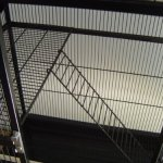 Extra-Large-4-Level-With-Large-Double-Front-Doors-For-Feisty-Ferret-Chinchilla-Rat-Small-Animal-Wrought-Iron-Cage-With-Stand-12-Bar-Spacing-Black-Vein-0-0