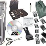 Oster-2-Speed-Outlaw-Dog-Animal-Clipper-With-CaseDVDShears-And-10-Blade-A5-with-10-piece-comb-guide-set-0