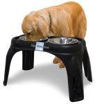 OurPets-Right-Height-Caf-Dog-Feeder-16-inches-High-0