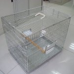 Posh-Pets-Carrier-Carry-Cage-Transporter-in-Silver-0