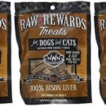 3-Pack-Northwest-Naturals-Raw-Rewards-Freeze-Dried-Bison-Liver-Treats-3-Ounces-Each-0