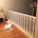 4UHeart-Child-Safety-Net-10ft-x25ft-Rail-Balcony-Banister-Stair-Net-Safety-for-Kids-Toys-Pets-Safe-for-Indoor-Outdoor-Patios-or-Balcony-Use-0