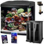 BioCube-Coralife-Size-32-LED-Aquarium-Reef-Package-with-New-Improved-Stand-0