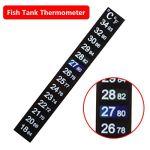 High-Five-Store-Durable-Aquarium-Fish-Tank-Thermometer-Temperature-Sticker-Digital-Dual-Scale-Stick-on-100-NEW-0