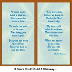 If-Tears-Could-Build-a-Stairway-Pet-Loss-Sympathy-Picture-Frame-Gift-and-Memorial-with-optional-custom-photo-editing-0-0