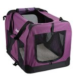 Pettom-Dog-Crate-Soft-Sided-Kennel-for-Pet-Indoor-Home-Outdoor-Use-3-Door-Folding-Collapsible-Travel-Carrier-for-Medium-Large-Dogs-0