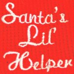 Santas-Lil-Helper-Embroidered-Thermal-Dog-Pajamas-X-Small-0-0