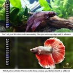 SunGrow-Betta-Sticker-Thermometer-Ensure-Optimum-Comfort-Around-78-Degrees-Accurately-Measures-Temperature-Large-Font-for-Quick-Reading-Keep-Fish-Healthy-1-Minute-to-Set-up-0-2