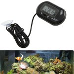 UEETEK-Aquarium-Thermometer-Fish-Tank-Thermometer-LCD-Digital-Suction-Cup-Pond-Marine-Black-2-Pieces-0-0