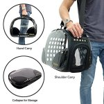 ibiyaya-Top-Loaded-Pet-Carrier-for-Cats-and-Dogs-Collapsible-Made-from-Suitcase-Material-a-Great-Alternative-to-pet-Kennel-and-Dog-Carrier-Purse-0-0