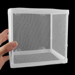 uxcell-Plastic-Aquarium-Fish-Tank-Frame-Hatchery-Separation-Isolation-4-Suction-Cups-Mesh-Net-Breeder-Divider-White-0-0