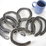 10-Pc-New-old-look-Cast-Iron-Horseshoes-for-Crafting-or-Decor-Size-2-0