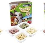 3-Pack-Vitakraft-Drops-Variety-Pack-Treats-for-Rabbits-Guinea-Pigs-Yogurt-Banana-Strawberry-Alfalfa-0
