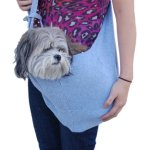 Anima-Grey-Cotton-Sling-Bag-Carrier-20-Inch-by-11-Inch-0