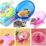 Best-Quality-Cages-Accessories-Hamster-Exercise-Flying-Saucer-Wheel-Mice-Gerbil-Fitness-Gyro-Running-Game-Toy-by-Viet-SC-1-PCs-0-2