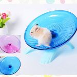 Best-Quality-Cages-Accessories-PC-Pet-Hamster-Mouse-Running-Disc-Flying-Saucer-18cm-Diameter-Exercise-Sport-Jogging-Wheel-Hamster-Accessorie-Pet-Tools-by-VietRattan-1-PCs-0-3