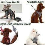 BroBear-Adjustable-Houndstooth-Pet-Harness-and-Leash-Set-0-2