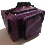 Brown-Sugar-Pet-Store-Pattern-Purple-Style-Puppy-for-Puppy-Kitten-Sugar-Glider-Prairie-Dog-Chinchillas-Small-Pet-Travel-Cage-Shoulder-Bag-Kennel-Carrier-with-2-Sides-Pocket-0