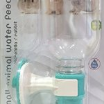 Choco-Nose-H528-Patented-No-Drip-Rabbit-Water-Bottle-Toy-Breed-Dog-Water-Bottle-Chinchilla-Water-Bottle-BPA-Free-112-Oz-330-Ml-Nozzle-Diameter-13mm-Mint-0-0