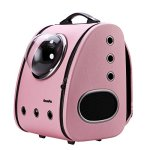 Cloverpet-C0101-Innovative-Fashion-Bubble-Pet-Travel-Carrier-Backpack-for-Cats-Dogs-Puppy-Pink-0