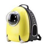Cloverpet-C0203-Innovative-Fashion-Bubble-Pet-Travel-Carrier-Backpack-for-Cats-Dogs-Puppy-Yellow-134-LX13-WX169-H-0