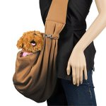 Cue-Cue-Pets-100-Plush-Cotton-Reversible-Pet-Sling-Carrier-Suitable-for-Small-to-Medium-Sized-Dogs-Cats-Rabbits-Pets-0-2
