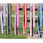 Doggie-Design-Safety-Reflective-Strip-Nylon-Leash-with-Soft-Grip-Handle-34-in-Wide-x-5-ft-Long-0