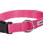 GoGo-Pet-Products-Comfy-Nylon-58-Inch-Adjustable-Pet-Collar-Small-Pink-0